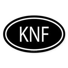 KNF Oval Decal