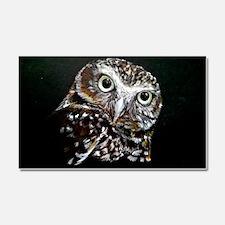 Cute Owl Car Magnet 20 x 12