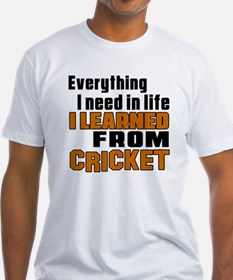 Everything I Learned From Cricket Shirt