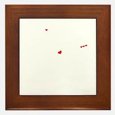 Funny Oswaldo Framed Tile