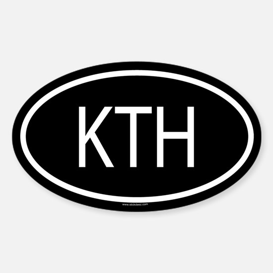 KTH Oval Decal