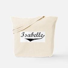 Isabelle Vintage (Black) Tote Bag