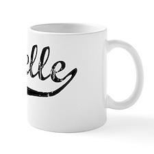 Isabelle Vintage (Black) Coffee Mug