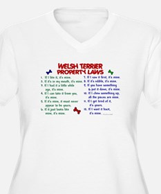 Welsh Terrier Property Laws 2 T-Shirt
