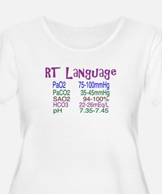 RT LANGUAGE Plus Size T-Shirt