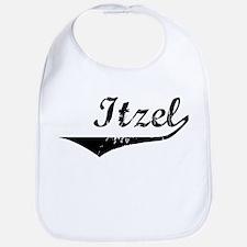 Itzel Vintage (Black) Bib