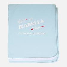 Unique Izabella baby blanket