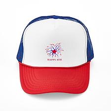Unique 4th july Trucker Hat