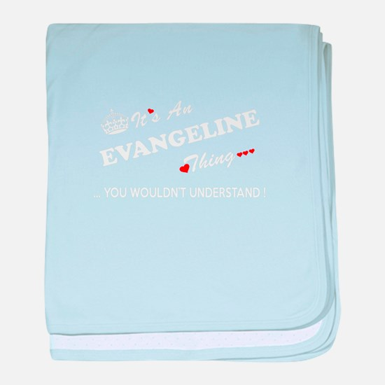 Unique Evangeline baby blanket