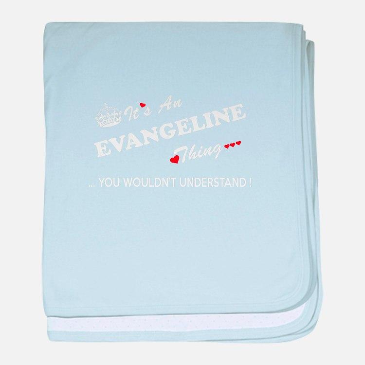 Cute Evangeline baby blanket