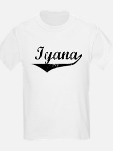 Iyana Vintage (Black) T-Shirt