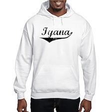 Iyana Vintage (Black) Hoodie