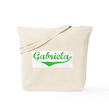 Gabriela Vintage (Green) Tote Bag