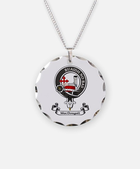 Badge - MacDougall Necklace Circle Charm