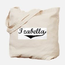 Izabella Vintage (Black) Tote Bag