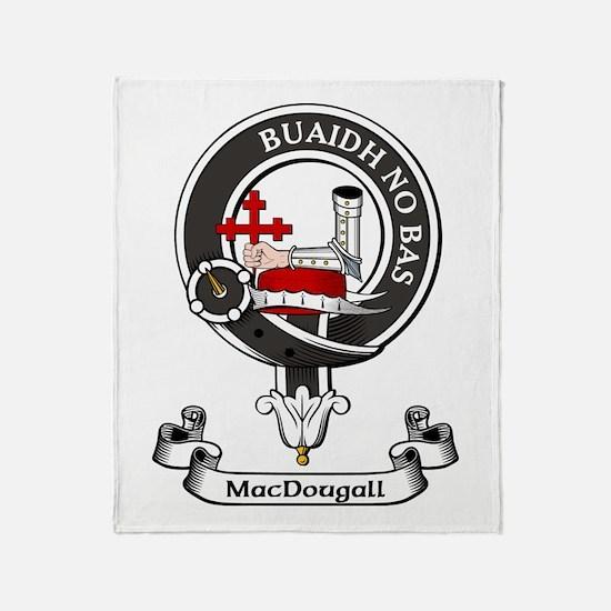 Badge - MacDougall Throw Blanket