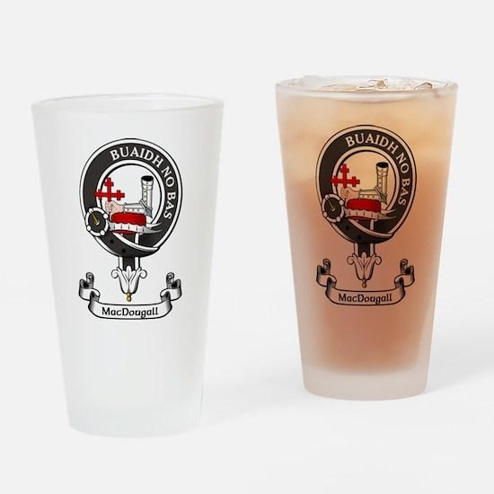 Badge - MacDougall Drinking Glass