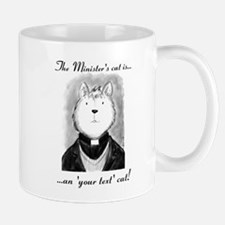 Personalised The Minister's Cat Mugs