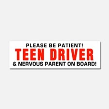 Teen Driver Parent Red Car Magnet 10 x 3