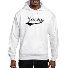 Jacey Vintage (Black) Hoodie Sweatshirt