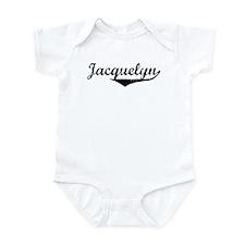 Jacquelyn Vintage (Black) Onesie