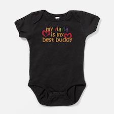 Funny Cute best friend saying Baby Bodysuit