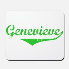 Genevieve Vintage (Green) Mousepad