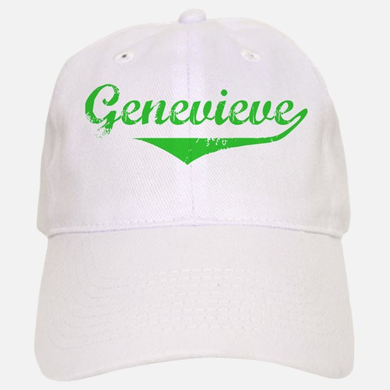 Genevieve Vintage (Green) Baseball Baseball Cap