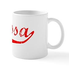 Clarissa Vintage (Red) Mug