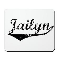 Jailyn Vintage (Black) Mousepad