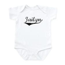 Jailyn Vintage (Black) Infant Bodysuit