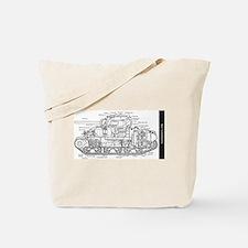 M4 SHERMAN CUTAWAY Tote Bag