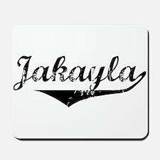 Jakayla Vintage (Black) Mousepad
