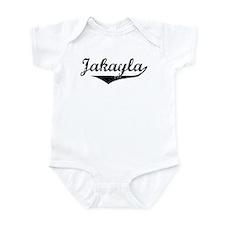 Jakayla Vintage (Black) Infant Bodysuit