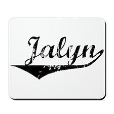 Jalyn Vintage (Black) Mousepad