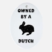 Owned by a Dutch Keepsake (Oval)