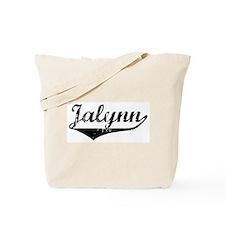 Jalynn Vintage (Black) Tote Bag
