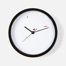 Funny Kix kix Wall Clock