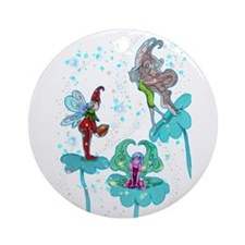 Philominia Pixie Round Ornament