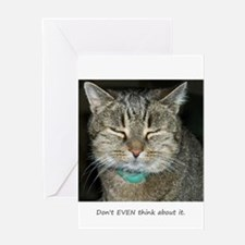 Don't Even... Greeting Card