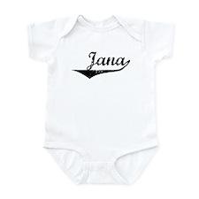 Jana Vintage (Black) Infant Bodysuit