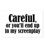 Careful... screenplay - Postcards (Package of 8)