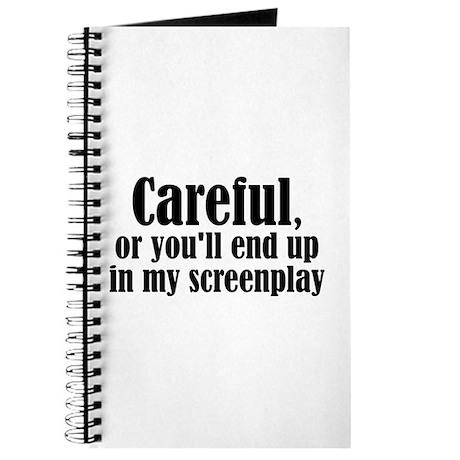 Careful... screenplay - Journal