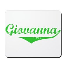 Giovanna Vintage (Green) Mousepad