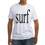 308.surf Fitted T-Shirt