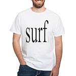 308.surf White T-Shirt