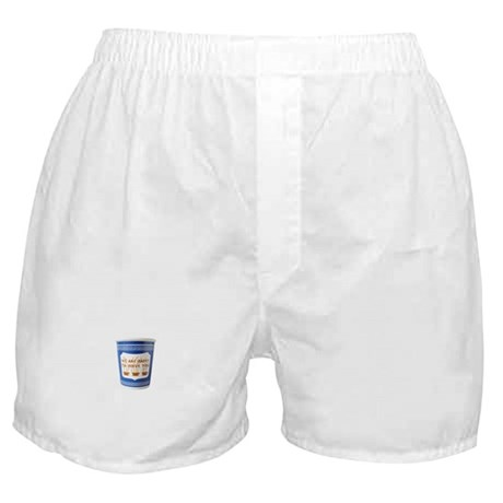 We Are Happy To Serve You Boxer Shorts