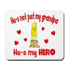 Not just my grandpa (hearts) Mousepad