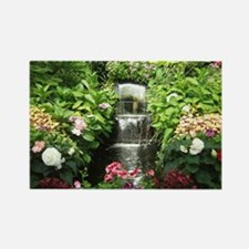 Waterfall Greenhouse Rectangle Magnet