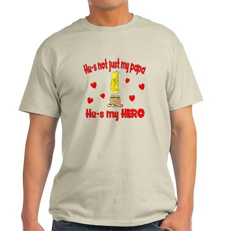 Not just my papa (hearts) Light T-Shirt